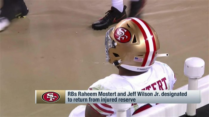 49ers RBs Raheem Mostert, Jeff Wilson cleared to practice after injury spells