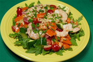 Keep it cool with a summery shrimp pasta salad