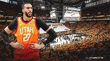 Rudy Gobert Reacts To Jazz Allowing Fans Into Arena Amid COVID