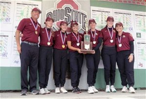New Albany Eagles rally for fourth consecutive Division I state girls golf championship
