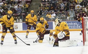 Slow start dooms Gophers in 5-3 loss to Bulldogs