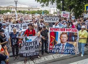In Russian Far East city, discontent smolders amid election