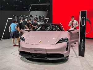 Porsche's Taycan Is Officially More Popular Than the Tesla Model S