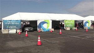 LVHN holds mass vaccination event at Pocono Raceway, as more people become eligible to get vaccine