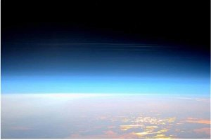 NASA Shares Stunning Photo of What 'Night Shining' Clouds Look Like from Mesosphere