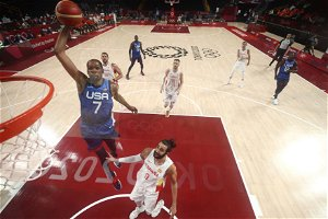 Analysis: He's Kevin Durant, and finding his Olympic groove