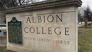 Albion student suspended over racist graffiti. NAACP to host virtual community healing forum