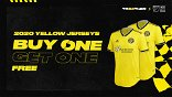 SHOP | Buy One, Get One FREE Crew SC Yellow Jerseys!