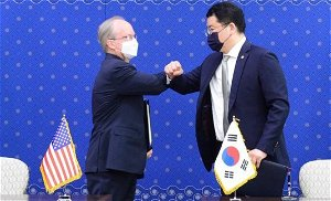 US and South Korea sign military cost-sharing deal after years of heated talks