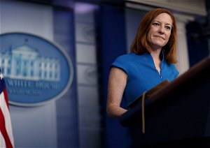 Psaki: Biden, Harris don't have to restrict nonessential travel because they use private planes