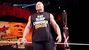 New photo of Brock Lesnar in a cowboy hat goes viral