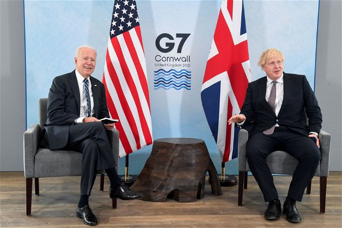 Johnson hails Britain's 'indestructible' relationship with US