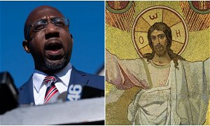 Raphael Warnock rebuked for Easter message in now deleted tweet