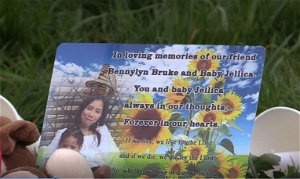 Friends hold vigil for tragic Bennylyn Burke and daughter found dead in Dun