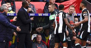 Newcastle search for first win goes on as they escape Palace with a point