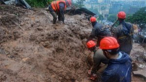 Landslides in western India kill 5, while floods trap more