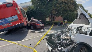 Multiple people injured in accident involving Metrobus