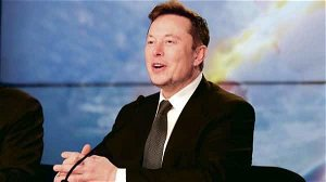 Why Elon Musk made a surprise appearance at rival carmaker's conference