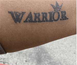 Gloria Williams and Brian Coulter got 'WARRIOR' tattoos after killing 8-year-old son