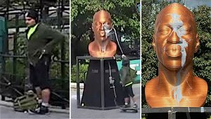 'Parks and Recreation' actor charged with vandalizing George Floyd statue