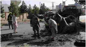 Taliban claim responsibility for attack on minister's compound in Kabul