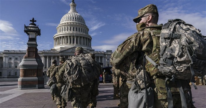 Cost of National Guard mission to protect U.S. Capitol estimated at $483 million