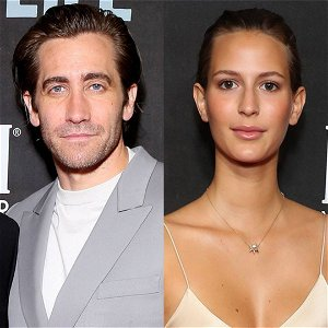 Jake Gyllenhaal and Girlfriend Jeanne Cadieu Get Cozy in Rare Public Sighting