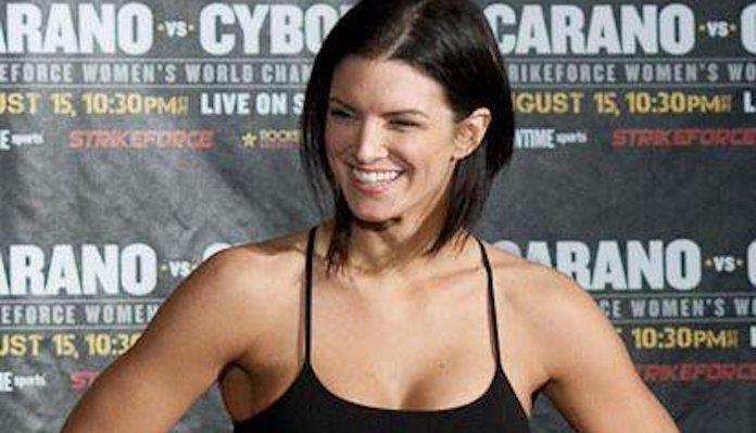 Twitter Mob Demands Disney 'Cancel' Actress Gina Carano for Mocking Democrats