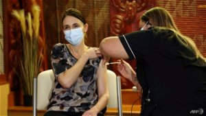 New Zealand PM Ardern gets 'pain-free' COVID-19 vaccine shot