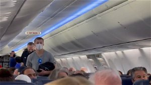 Caught on camera: 'Unruly passenger' escorted off Charlotte plane for refusing to wear mask