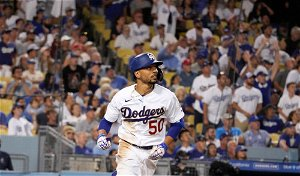 Dodgers put star OF Mookie Betts on IL with hip inflammation