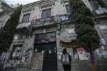 AP PHOTOS: Occupied Mexico rights office becomes refuge
