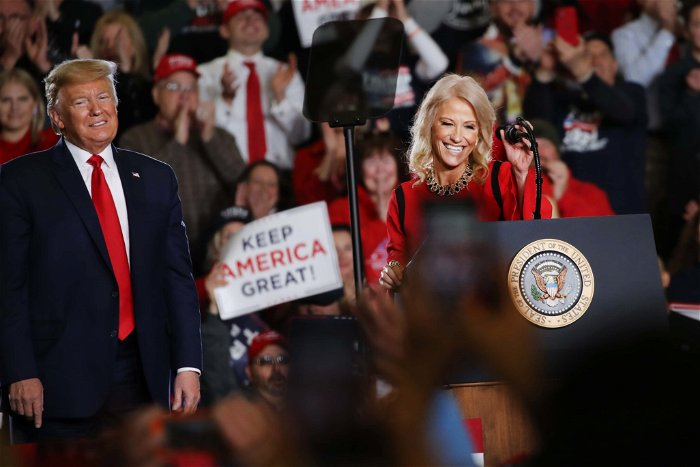 Kellyanne Conway Accused of Posting Topless Photo of Her 16-Year-Old Daughter on Twitter