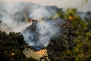 Arson arrest made in LA wildfire that forced evacuations
