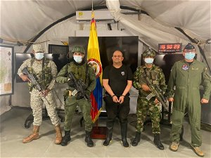 Colombia armed forces capture top drug trafficker Otoniel