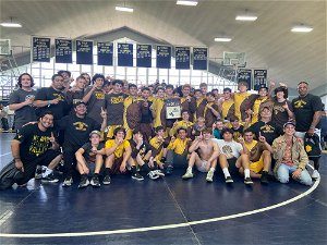 Temecula Valley beats St. John Bosco to win Division 1 dual-meet wrestling title