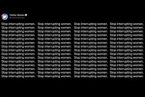 """Twitter and the UN screeched obnoxiously at people to """"stop interrupting women"""" and were rightly trolled into oblivion"""