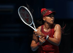 Naomi Osaka wins first-round match at Olympics, then breaks her silence with media