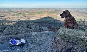 Rubbish views: New campaign launched to tackle litter issues on Bennachie