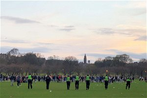 Disorder in Edinburgh's Meadows highlights shameful neglect of young generation over last year – Brian Ferguson