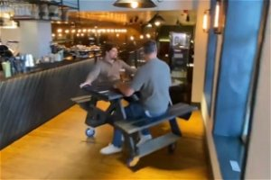 Pub owner's genius way to order from the bar without leaving your seat
