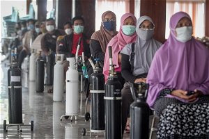Indonesia's second virus wave has peaked, says health minister