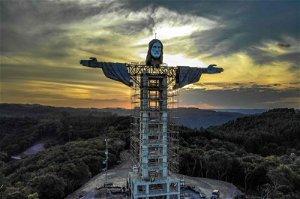 Brazil building new Christ statue, taller than Rio's