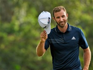 Dustin Johnson is the third player of all time