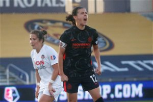 Christine Sinclair reaches new milestone with opening goal in NWSL Challenge Cup final
