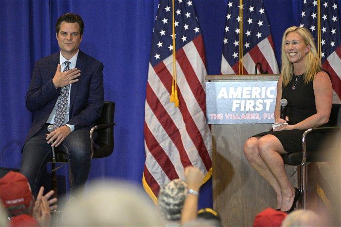 Gaetz, Greene take mantle of Trump's populism: 'America First isn't going away'