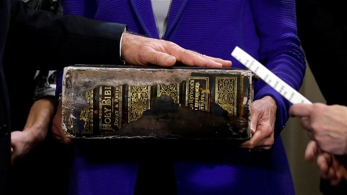 The significance of the Bible Joe Biden is using on Inauguration Day