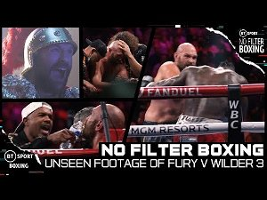 No Filter Boxing: Tyson Fury v Deontay Wilder 3 | Behind the Scenes on Fight Night