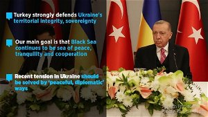 'Our main goal is that Black Sea continues to be sea of ​​peace, tranquility and cooperation'