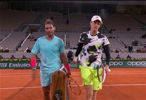 Jannik Sinner on his training with Rafael Nadal